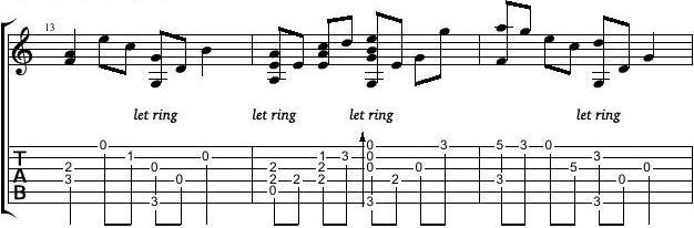 卢家宏 - 电游《仙剑》插曲 - 《回梦游仙》指弹吉他谱图片