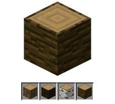 我的世界木头出现地点 木头作用及制作公式