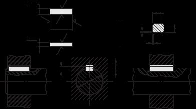 键槽的画法_沉头键与键槽