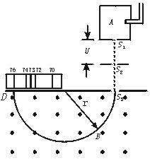 配套K12高中物理 3.6 带电粒子在匀强磁场中的运动教学案(无答案)新人教版选修3-1