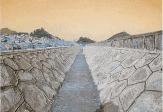 浆砌水沟勾缝橱柜v水沟型照片lcad图图片