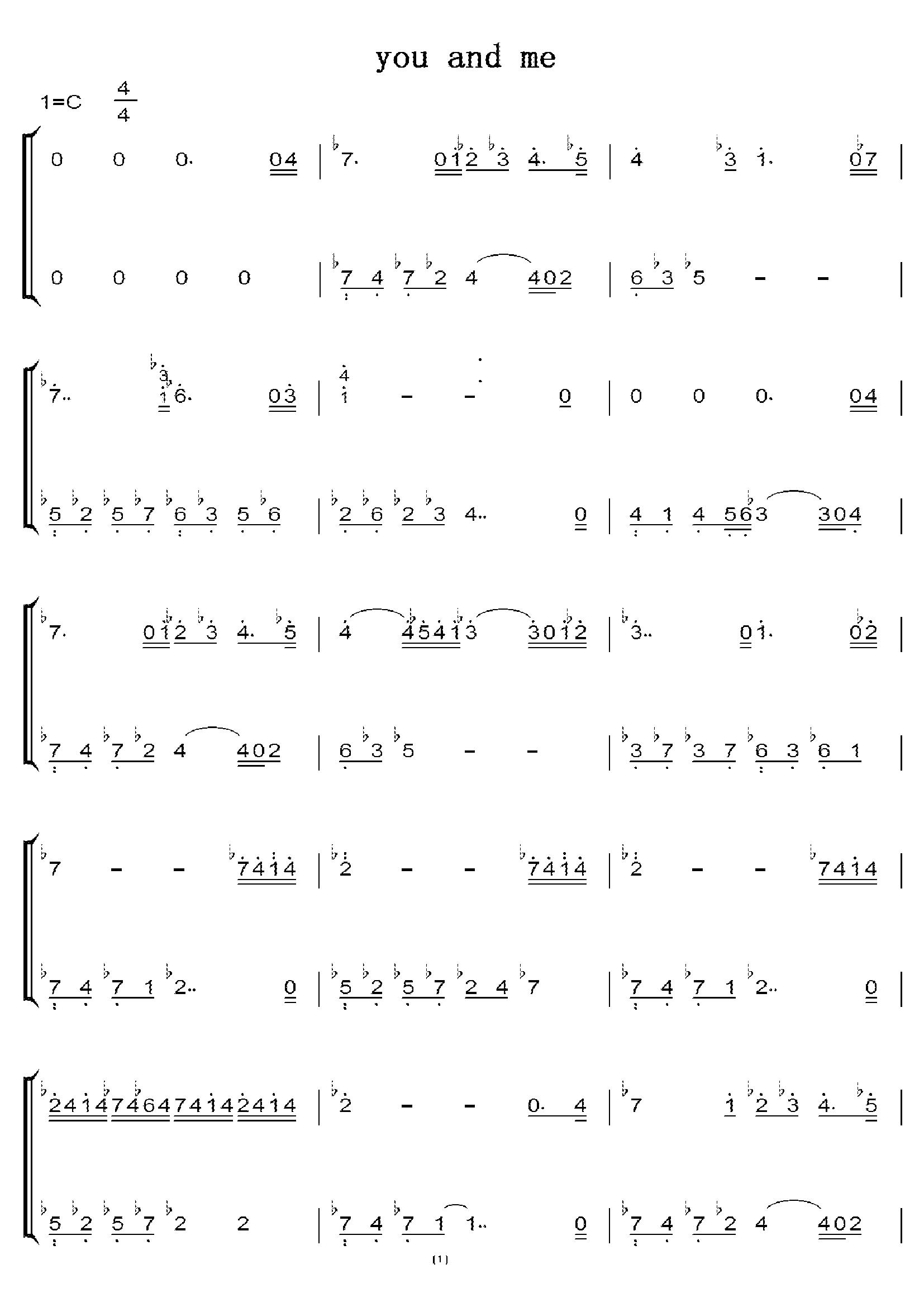 梦与叶樱钢琴谱简谱 梦と叶桜吉他谱图片