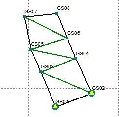 电力/水利 gps控制测量技术总结报告  五,四等(或d级)gps网的设计和图片