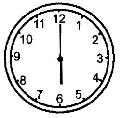 2016-2017年最新冀教版小学数学一年级下册《认识钟表》精选习题(名校资料)