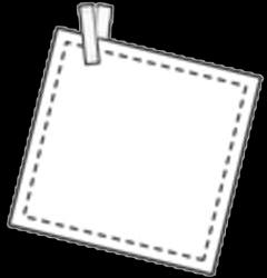 读书小报描边涂色手抄报空白模板勾边填色线描板报卡.