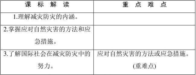 深入理解减灾防灾课件山水版长春桂林ppt教案图片