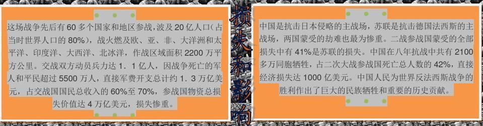 反法西斯抗战胜利73周年【a4】小报图片