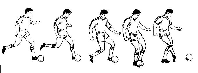 脚内侧踢球教案