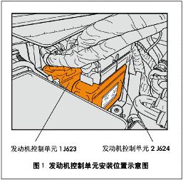 辉腾w12型发动机管理系统结构图片