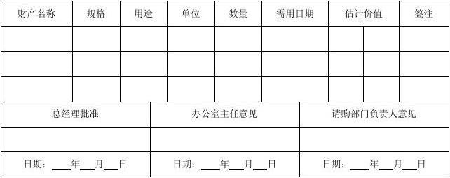办公用品与设备日常管理表格