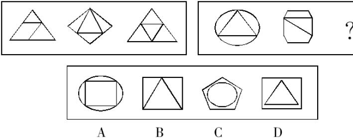2014政法干警行测笔试:图形推理解题方法及技巧