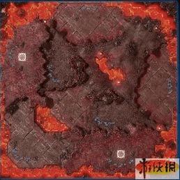 《星际争霸2》地地图剖析!新地图焚烧之地