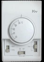 2,两管制加热,制冷接线图 电动阀受温度控制,风机不图片