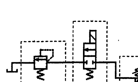 二位二通电磁换向阀(常态位为常闭),减压阀分别扣2分,画错油路扣4分.图片