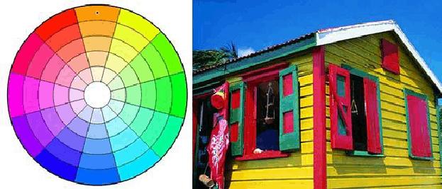 类似色相配色_色相环配色原理