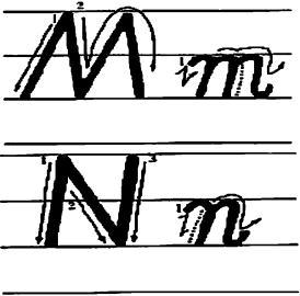 英文字母大小写的笔顺-26个英文字母的书写笔顺 ...