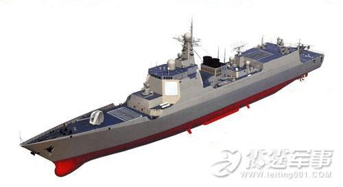 """新型052D驱逐舰全面改良 性能上压倒""""现代""""级"""
