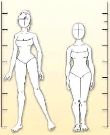 漫画画法之人体结构图片