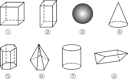 配套K122018年秋七年级数学上册 第4章 直线与角 4.1 几何图形教案1 (新版)沪科版