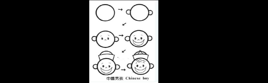 儿童简图画