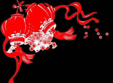 民俗剪窗花新年春节电子小报欢度春节ag88手机登录|官方模板简报传统节日板报中国图片