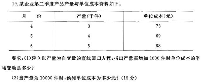 电大西方经济学小抄_统计学原理——相关分析计算题_文档下载