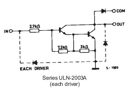 uln2003的使用