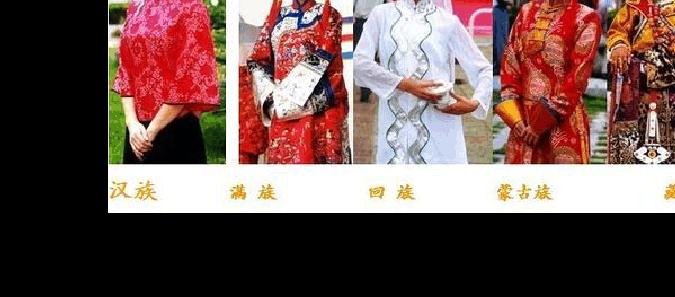 56个少数民族的服饰图片图片