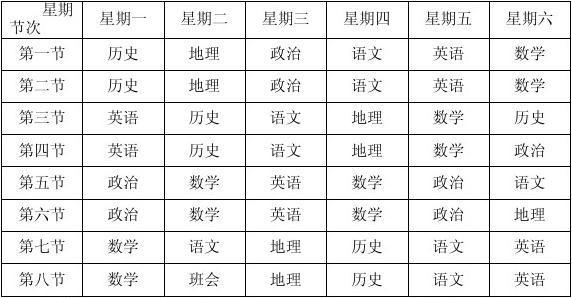 福州金桥高级中学课程表(暑期高三、必修高中英语二unit1mp3图片