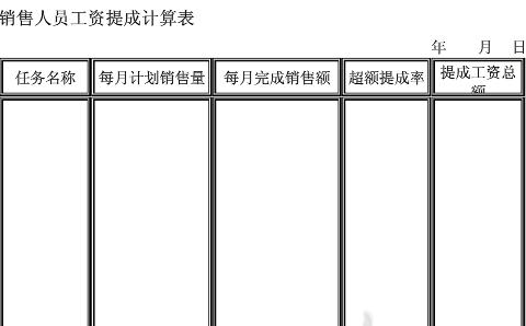 深圳市工资表格式_企业工资各计算表_word文档在线阅读与下载_无忧文档