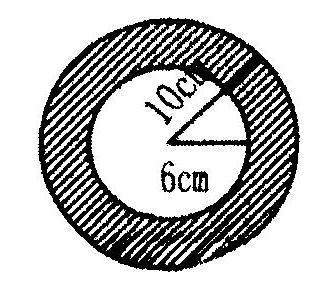 圆形、环形面积计算复习