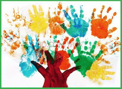 儿童手指画及手影游戏图片