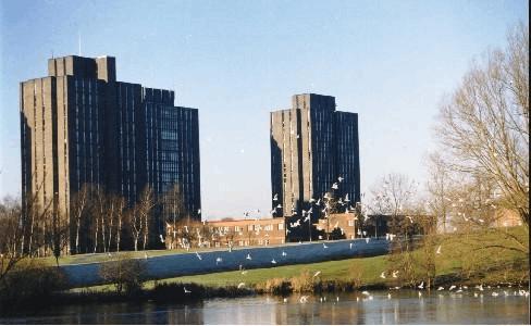 2017年英国nottingham trent university地理位置具体