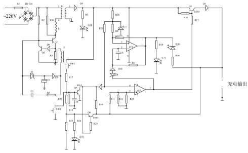 分类:电子制作 一,手机万能充电器是一个小型的开关电源,电路结构简单图片