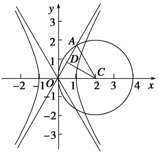 3,解得a=1,即a=1,该双曲线的实轴长为2a=2. 3+a3+a