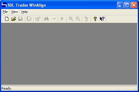 对齐已翻译文档导入翻译记忆库-Winalign