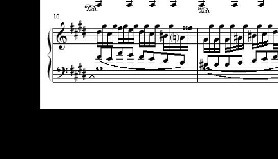 月光曲第三乐章下载_贝多芬月光奏鸣曲第三乐章钢琴谱(完整版)_文档下载