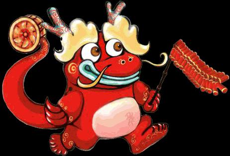 新年英语电子小报新年春节电子小报欢度春节手抄报模板简报传统节日板图片