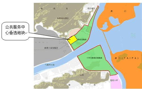 珠海十字门商务区城市设计概念方案规划设计任务书0610图片
