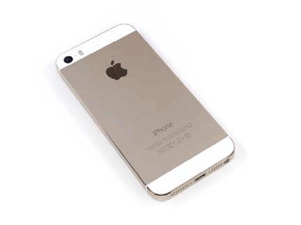 土豪金iPhone5S拆解