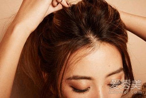 长发怎么扎丸子头 韩系女生最爱的扎法图解图片
