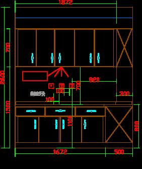 73平米图纸图纸CAD版家装平面和立面图变更发生消防大面积厨房图片