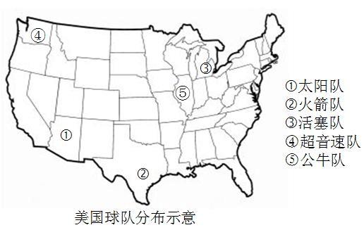 NBA与地理