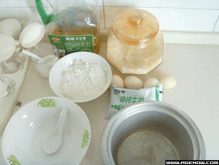 电饭锅做蛋糕教程!!