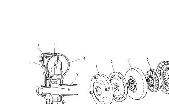 结构图  自动变速器电脑根据车速,节气门开度,发动机转速,变速器液压图片