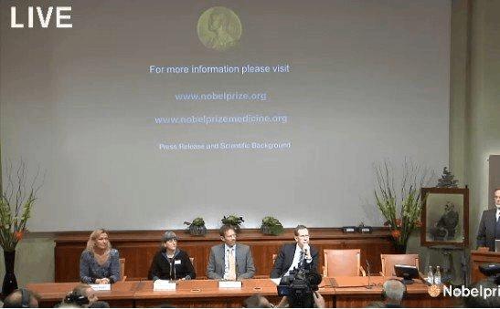 2012年诺贝尔生理学或医学奖揭晓