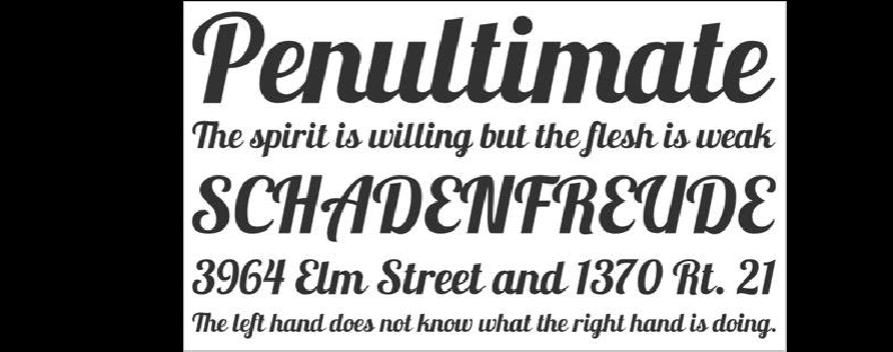 颜值担当!23款顶尖知名设计师的全球字体打包校庆海报设计的说明图片