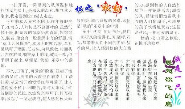 word排版实例图片