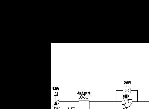 一路经单向阀到四通,然后到2625,储气罐,377的f口;一路经三通电磁阀后图片