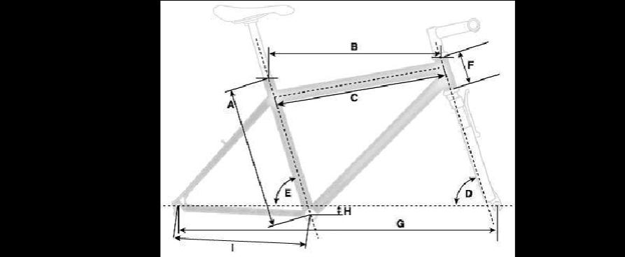 自行车车架基本尺寸与整车操纵稳定性的关系图片